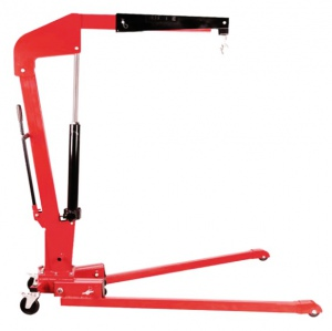 HYD/ENGINE CRANE: 1 TON FOLDING H/DUTY