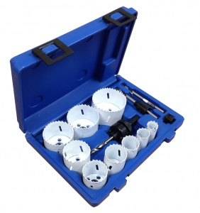 HOLESAW SET: 12PC COMBINATION