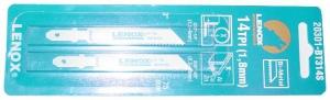 JIGSAW BLADE: LENOX 314S 2PC
