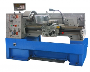 LATHE: D-420 X 1000 X 52MM BORE, 3 PHASE