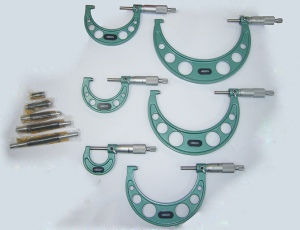 MICROMETER: OUTSIDE 0-150MM SET 6PC DASQUA