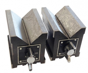 MAGNETIC V BLOCK: 80 X 60 X 75MM NON-HARDENED / PER PAIR