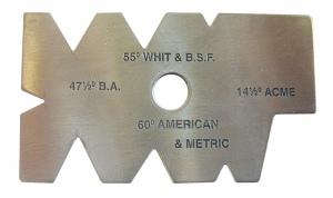TOOL ANGLE GAUGE: J200 55DEG WHIT & BSF