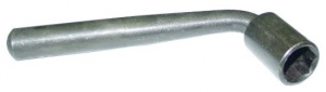 HEX SOCKET WRENCH: 17.0MM L/TYPE
